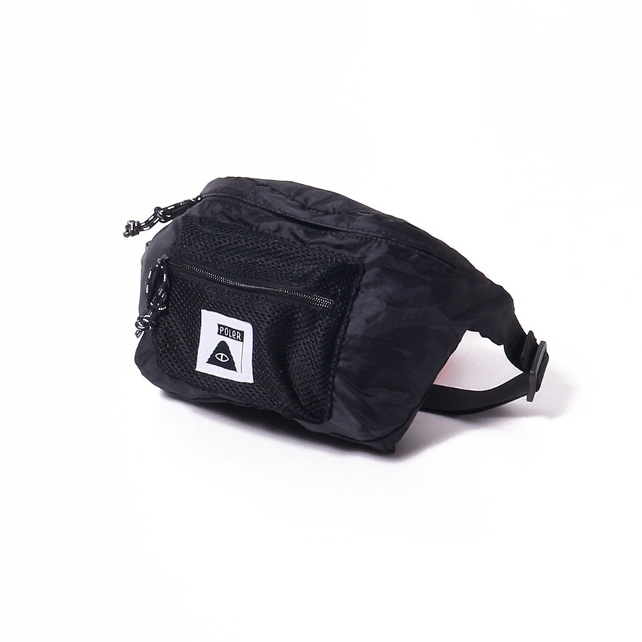 STUFFABLE FANNY PACK BLACK