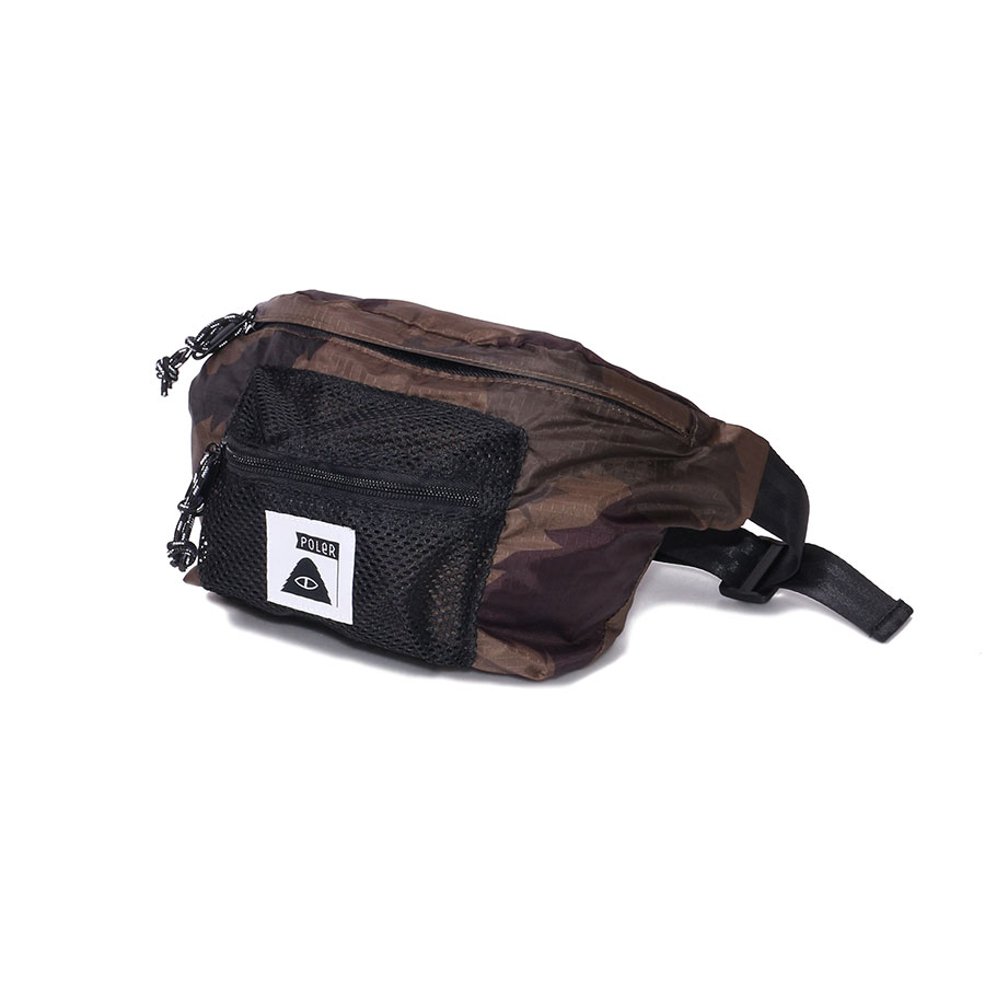 STUFFABLE FANNY PACK OLIVE FURRY CAMO